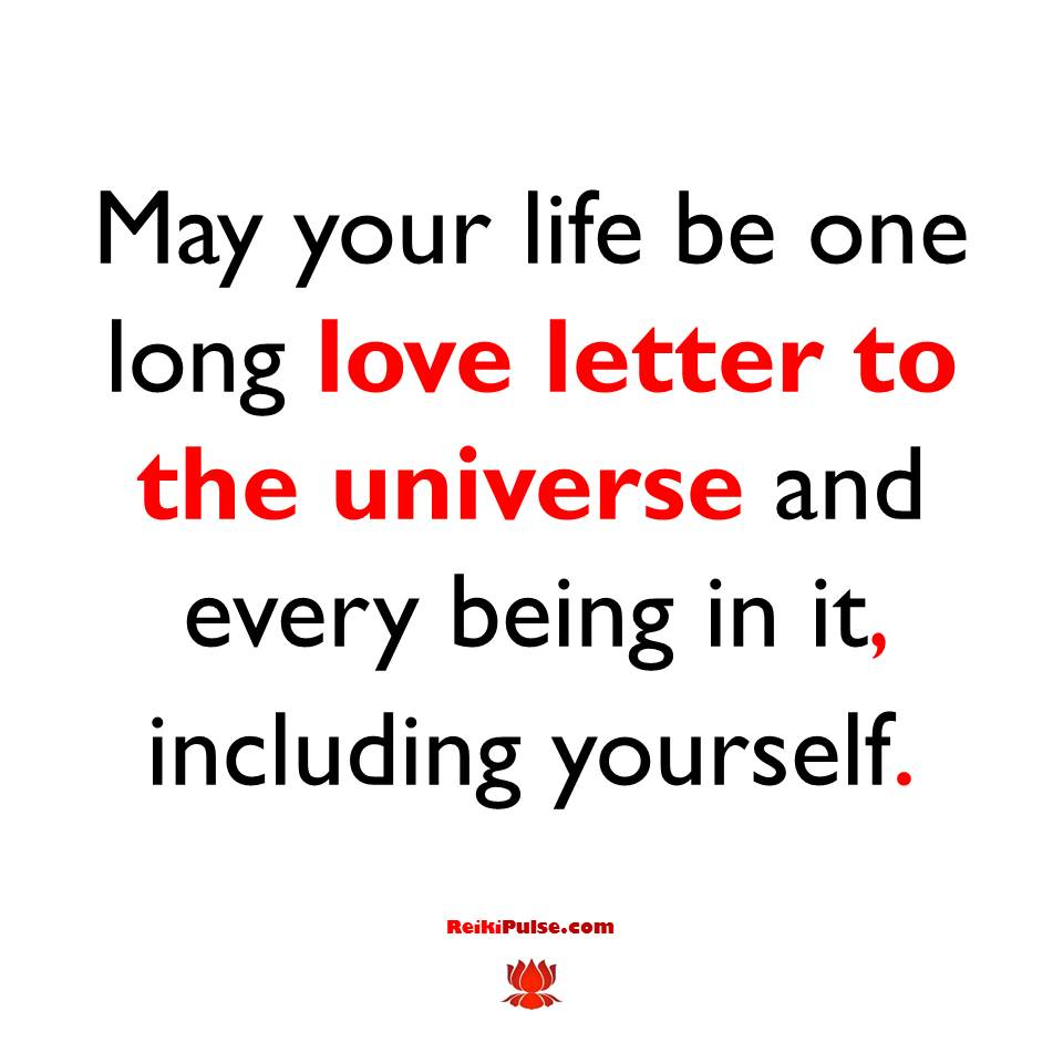 Love Letter to the Universe